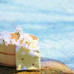 『春風呂』春を感じるお風呂