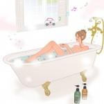 【バスオケ】お風呂でこそ歌いたい♪思わず口ずさんじゃう!?バスソング3選