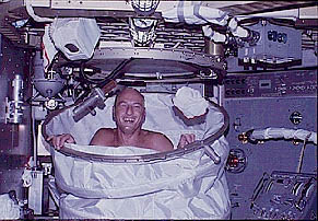 宇宙 シャワールーム