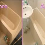 重曹とミョウバン水を使って4時間おふろ掃除をしたら、めっちゃキレイになったお話。