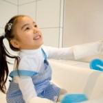【有馬温泉取材レポ③】有馬温泉旅館の従業員に教わったお風呂掃除をやってみた!