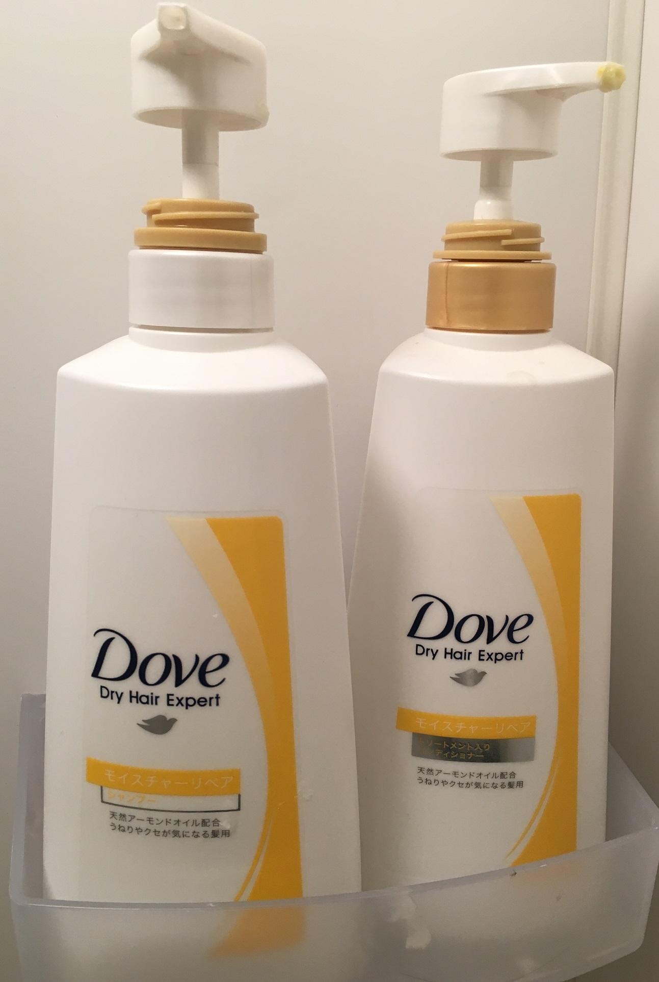 シャンプー&トリートメント:DOVE ~Dry Hair Expert~