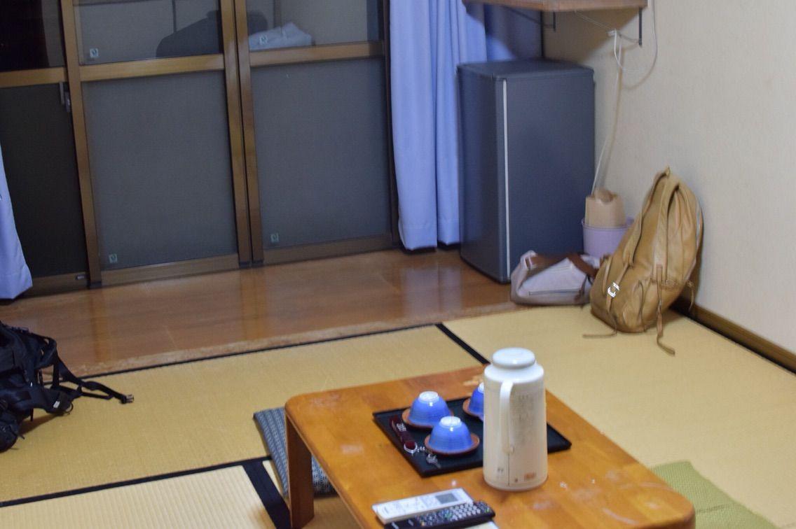 湯治宿の部屋