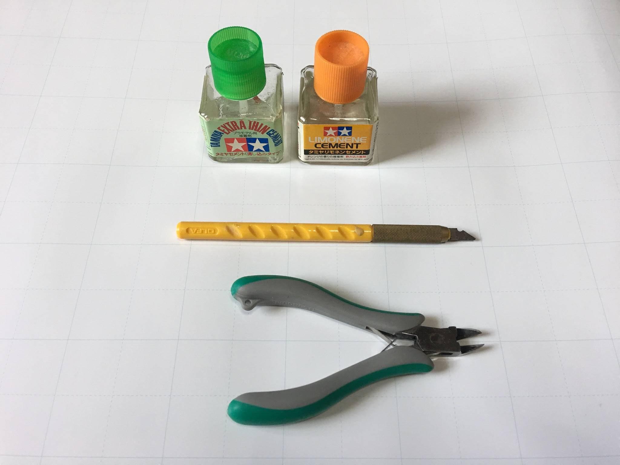 プラモの道具