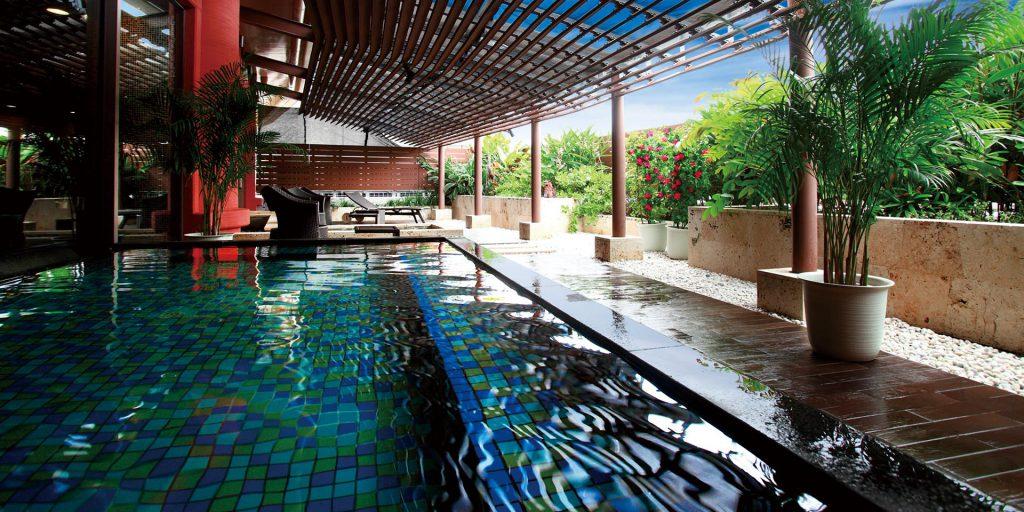 ロワジールホテルスパタワー露天風呂