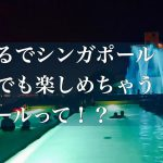 【実際に行ってみた】まるでシンガポール!?冬でも楽しめちゃうプールって!?