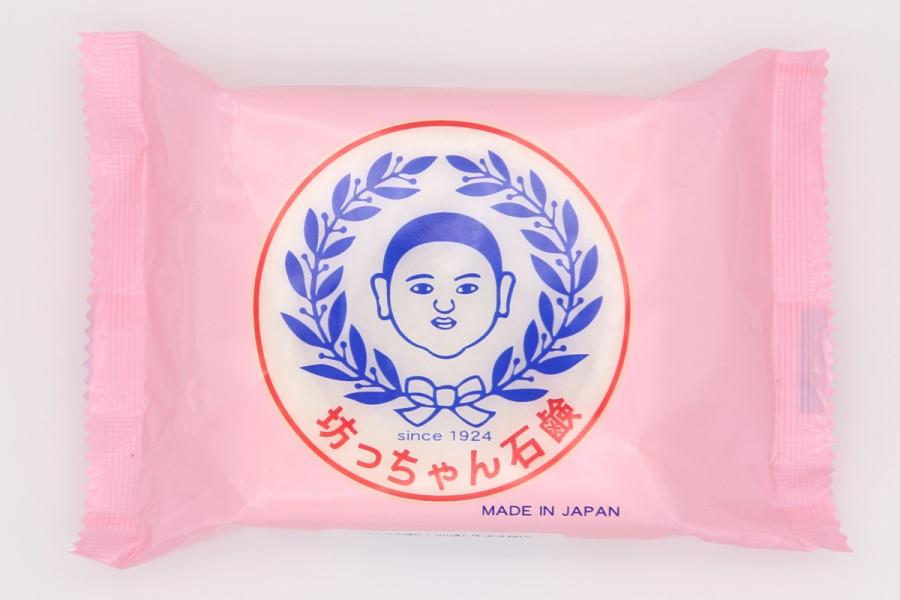 坊っちゃん石鹸のパッケージ