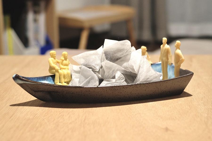 ティーバッグ盛り船