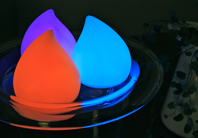 Drop Rainbow Bath Light