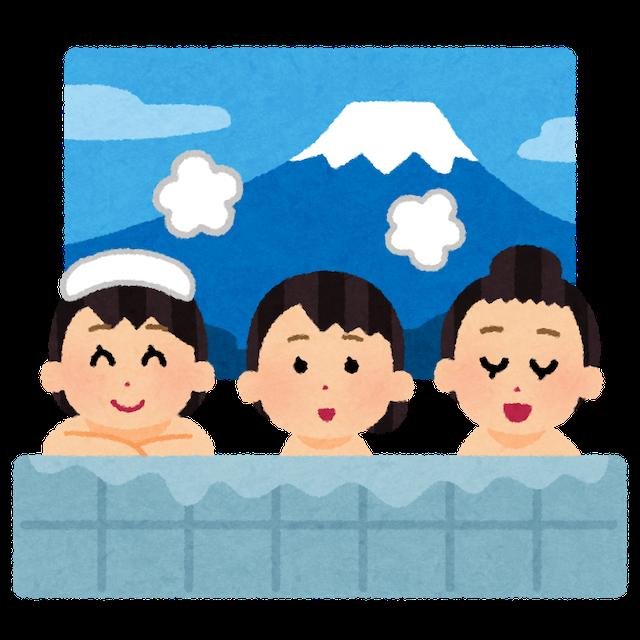 家族がいればお風呂に浸かる