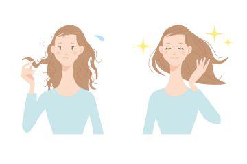 女性 髪 ビフォーアフター